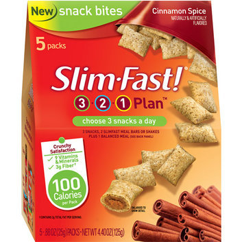 SlimFast Cinnamon Spice Snack Bites