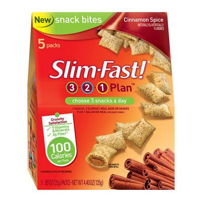 Slim-Fast 3-2-1 Cinnamon Spice Snack Bites