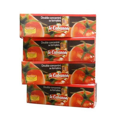 Valbon Gourmet Tomato Paste From France 4 pack combo 4x5.3oz