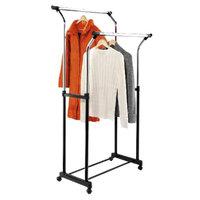 Honey-Can-Do Flared Double Garment Rack