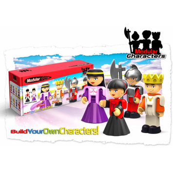 Modular Toys Castle Characters, 4-Pack