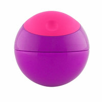 Boon SNACK BALL Snack Container, Pink/Purple, 1 ea