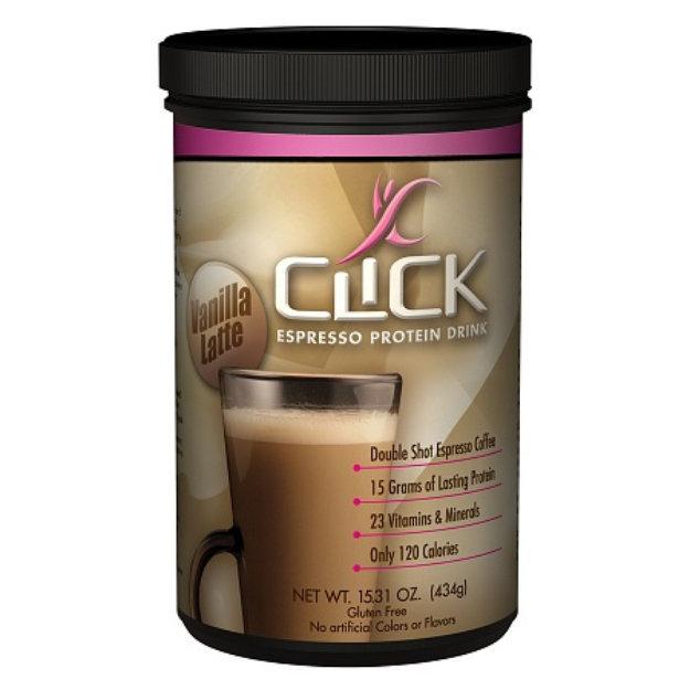 Slide: Click Espresso Protein Drink Powder