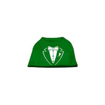 Ahi Tuxedo Screen Print Shirt Emerald Green Sm (10)