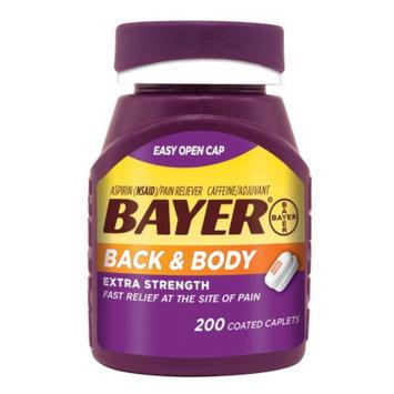 Bayer Back & Body Extra Strength Coated Caplets, 200 ea