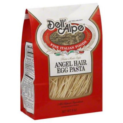 Dell'alpe Dell Alpe Angel Hair Egg Pasta 8 oz Pack of 6