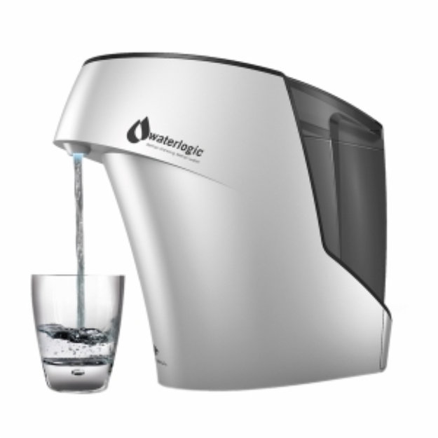 Waterlogic Firewall Hybrid Home Water Purifier, Silver and Black, 1 ea