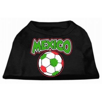 Ahi Mexico Soccer Screen Print Shirt Black 6x (26)