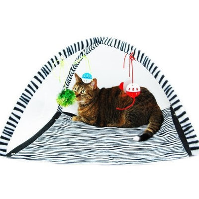 Pit Bull Kitty Cat Play Toy Tent Bed