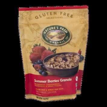 Nature's Path Organic Gluten Free Selections Summer Berries Granola