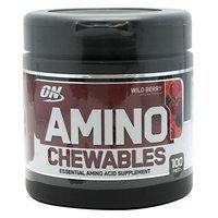 Optimum Nutrition Amino Chewables - Wild Berry, 100 Pieces