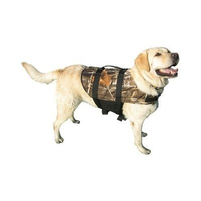 Paws Aboard Doggy Life Jacket in Camouflage Print (X-Large)
