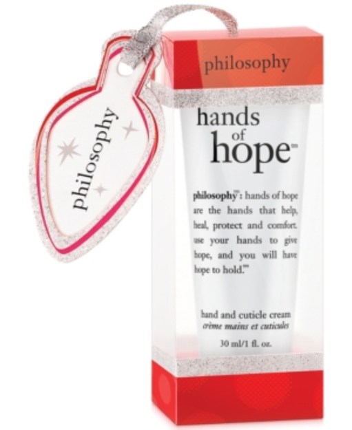 philosophy hands of hope ornament, 1 oz