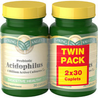 Spring Valley Twin Pack Acidophilus Twinpack