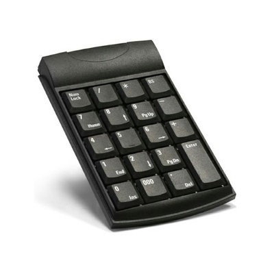 Unitech K19 USB Keypad - USB - 19 Keys - Black