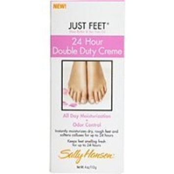 Sally Hansen Just Feet 24 Hour Double Duty Creme All Day Moisturization Cream