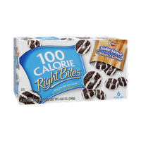 Keebler 100 Calorie Right Bites Fudge Shoppe Cookies 'n Creme Cookies