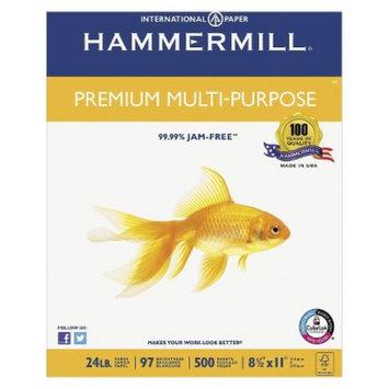 Hammermill Premium Multipurpose Paper, 97 Brightness, 24 lb - White