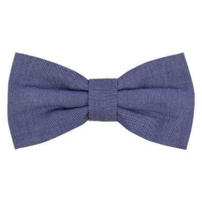 Boots & Barkley Bow Tie Collar Accessory - Dark Denim Wash