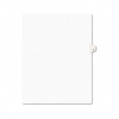 Avery Style Legal Side Tab Dividers