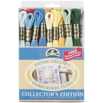 DMC Corp Embroidery Floss Pack - Home Decor