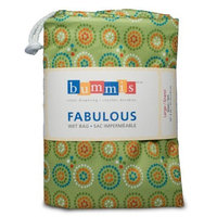 Bummis Fabulous Diaper Wet Bag, Green, Large (Discontinued by Manufacturer)