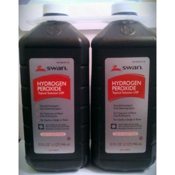 Swan Hydrogen Peroxide 32 Oz Pack of Two