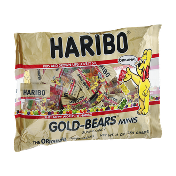 Gold-Bears Minis Gummi Candy