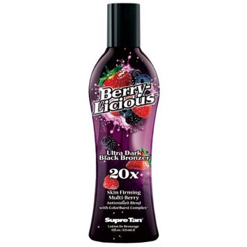 Supre Berrylicious 20X Black Bronzer Tanning Lotion 8 oz.