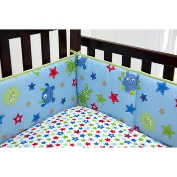 Little Bedding by NoJo Monster Babies 4-Piece Crib Bumper