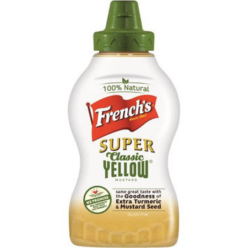 French's Super Classic Yellow Mustard
