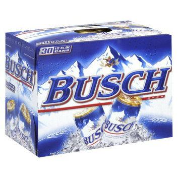 Anheuser Busch Busch Beer Cans 12 oz