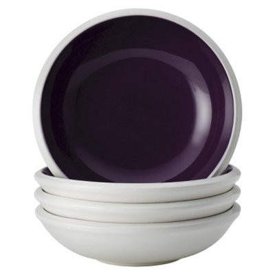 Rachael Ray Rise Fruit Bowl Set of 4 - Purple (7.5 oz.)