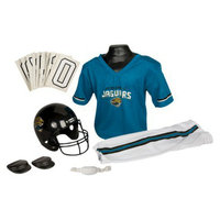 Franklin Sports NFL Jaguars Deluxe Uniform Set - Small