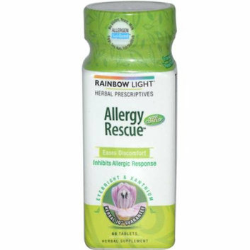 Rainbow Light Allergy Rescue 60 Tablets