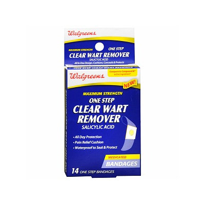 Walgreens One Step Clear Wart Remover