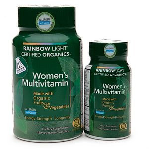 Rainbow Light Organic Women's Multivitamin