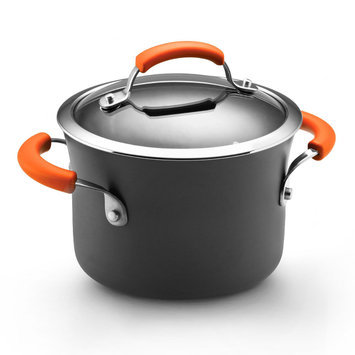 Rachael Ray Hard Anodized II 3 qt. Covered Saucepot
