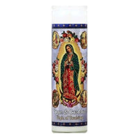 St. Jude St Jude Candle Vrgn De Guadlupe Aparic 1 Ea Pack Of 12