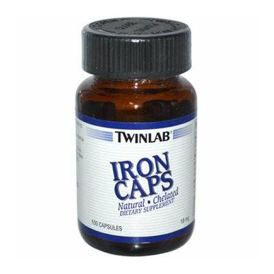 Twinlab Iron Caps 18 mg 100 Capsules