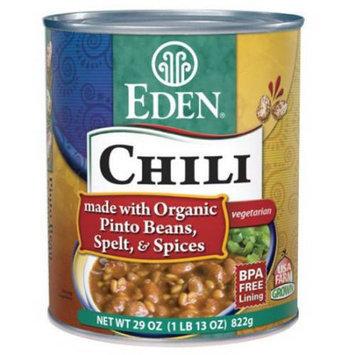 Eden Organic Eden Chili - Pinto Beans & Spelt, 29 Ounce (Pack of 6)