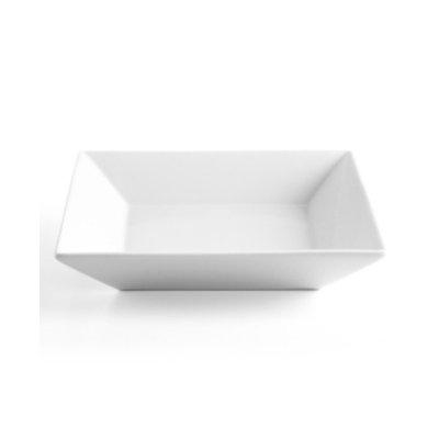 The Cellar Whiteware Square Individual Pasta Bowl