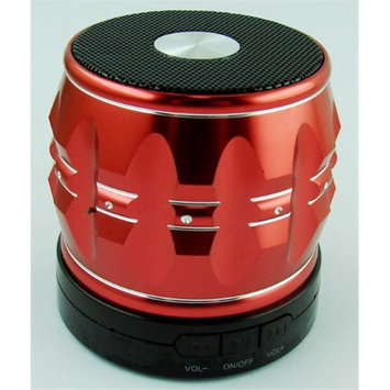 Global Product Solution BTS-SGRD Great Steel Bluetooth Red
