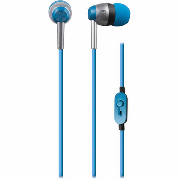 Sdi Techonlogies Inc. Noise Isolating Earphones w/ In-line Mic and Remote - Blue