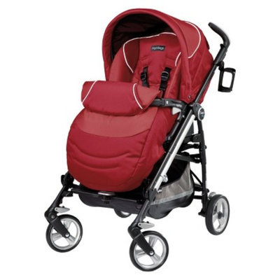 Switch Four Stroller - Geranium by Peg Perego