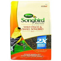 Scotts Songbird Selections 1025117 Wild Finch and Small Songbird Seed Blend Wild Bird Food Bag, 12-Pound