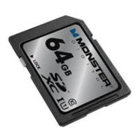 Monster Digital Monster 64GB Rugged SD Card DSV