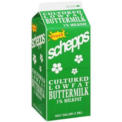 Schepps Fresh Cultured Lowfat Buttermilk, .5 gal