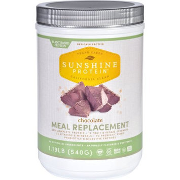 Designer Protein Sunshine Protein Meal Replacement