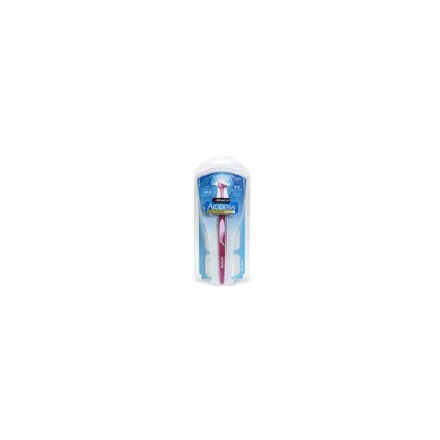 Reach Daily Flosser, Value Pack with Disposable Snap-On Heads 1 flosser 22 heads (Colors May Vary)